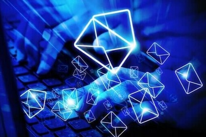 What are the dangers of using an email?