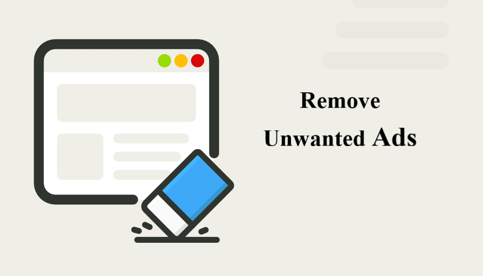 remove unwanted ads