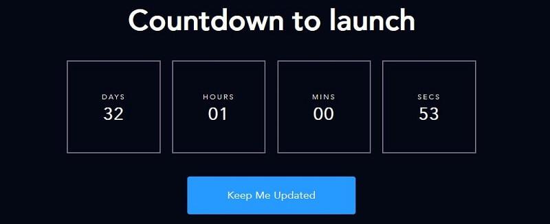 countdown to lanuch