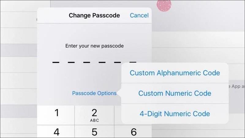 numeric passcodes