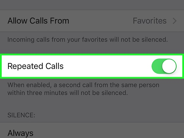 repeated calls