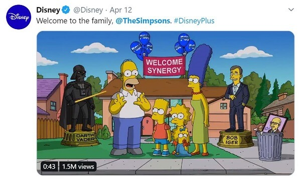 welcome the simpsons