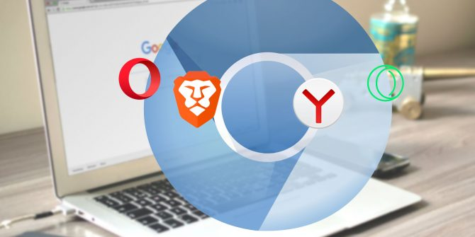 Best Chromium Based Browsers, online security, VPN